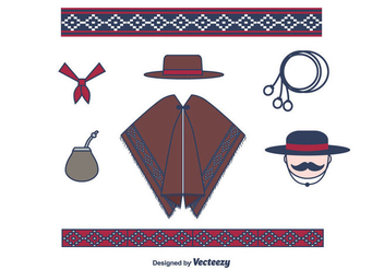 Gaucho Vector Set - бесплатный vector #433311