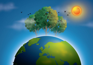 Free Earth Illustration Vector - Kostenloses vector #433331
