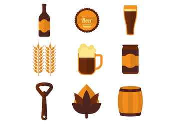 Free Beer Vector Icons - Free vector #433621