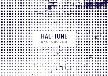 Free Vector Halftone Background - Kostenloses vector #434071