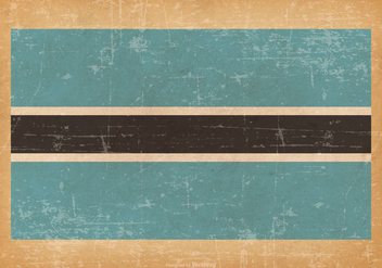 Grunge Flag of Botswana - vector #434731 gratis