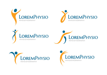 Physiotherapy Logo Free Vector - бесплатный vector #434811