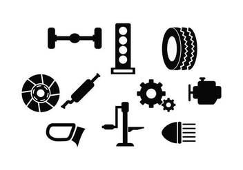 Free Automotive Icon Vector - Kostenloses vector #435001
