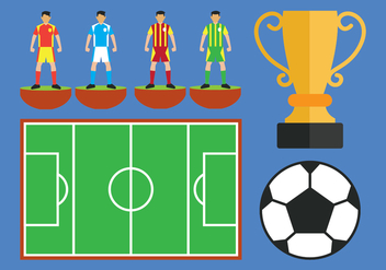 Subbuteo Vector Icons Set - бесплатный vector #435031