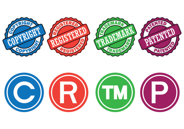 Copyright Symbols Set Free Vector Download 435151 Cannypic
