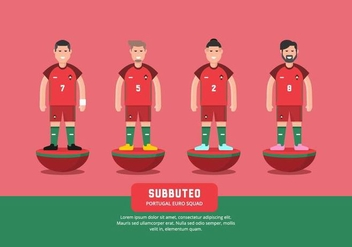 Subbuteo Illustration - Free vector #435401