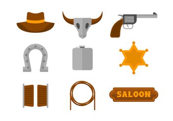 Free Gaucho Vector Icons - Free vector #435431