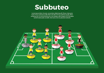 Subbuteo Gameplay Free Vector - бесплатный vector #435801