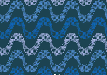Blue Copacabana Seamless Pattern - Free vector #435911