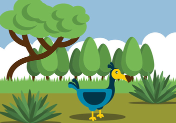 Illustration Of Dodo Bird - бесплатный vector #435941