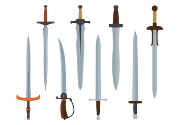 Sword Vector Pack - vector #435981 gratis