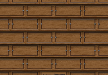 Wood Texture - Seamless Pattern - vector #436201 gratis