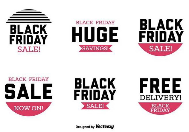 Vector Discount Advertisement Set - Free vector #436261