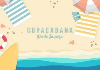 Copacabana Background - бесплатный vector #436641
