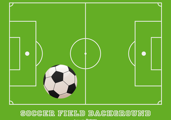 Soccer Field Background - vector gratuit #436761