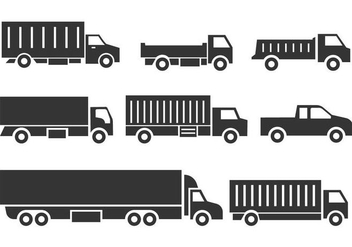 Free Truck Icons - Kostenloses vector #436861