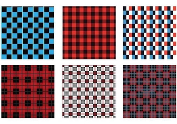 Flannel seamless pattern - vector gratuit #436971