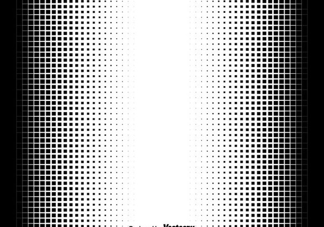 Halftone Squares Vector Illustration - Free vector #437071