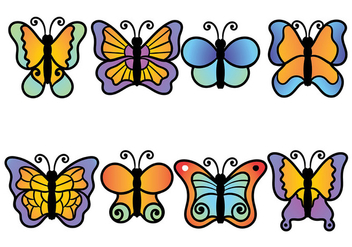 Mariposa Icon Vector - бесплатный vector #437101