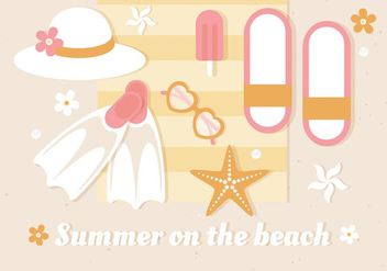 Free Summer Vector Illustration - Kostenloses vector #437211