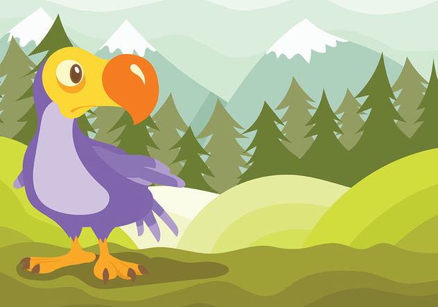 Dodo Vector Background - Free vector #437621