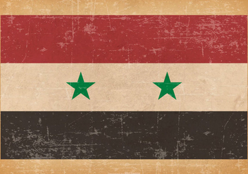 Grunge Flag of Syria - бесплатный vector #438631
