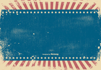Patriotic Grunge Style Background - Free vector #438641