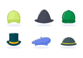 Free Outstanding Hat Vectors - бесплатный vector #439331