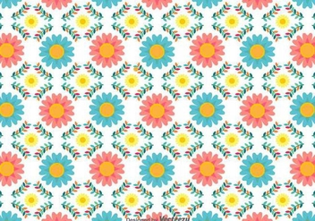 Vector Flower Background - Kostenloses vector #439601