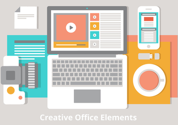 Free Flat Vector Desktop Illustration - vector #439661 gratis