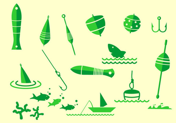 Fishing Tackle Icon - Free vector #439711
