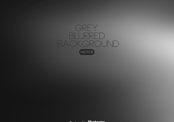 Vector Grey Blurred Background - бесплатный vector #439821