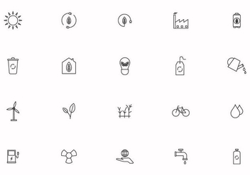 Free Earth Day Vector Icons - бесплатный vector #439841