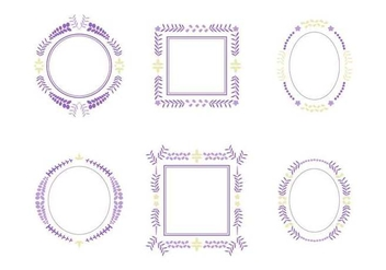 Free Beautiful Wisteria Flower Vectors - Kostenloses vector #440011