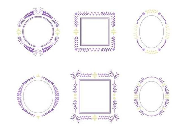 Free Beautiful Wisteria Flower Vectors - бесплатный vector #440011