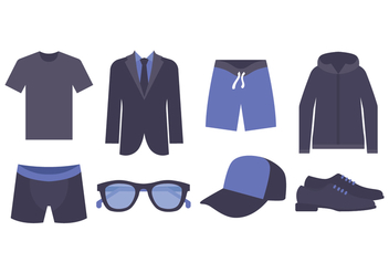 Men Fashion Vector Pack - vector #440091 gratis