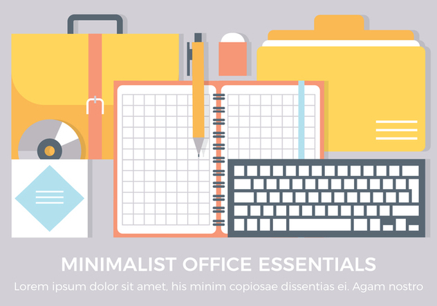 Free Office Vector Elements - vector #440361 gratis
