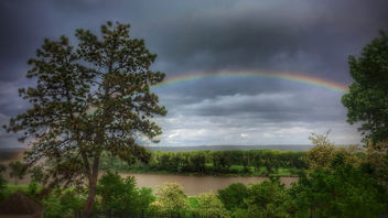 Rainbow over the Missouri - Free image #440381