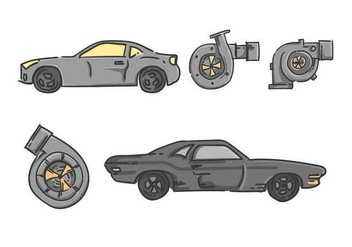 Free Outstanding Automotive Vectors - Kostenloses vector #440621