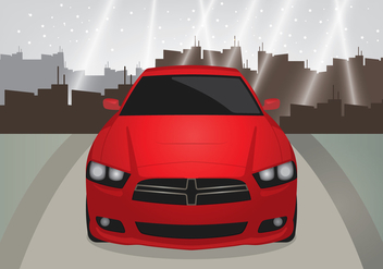 Sport Car - vector #440641 gratis