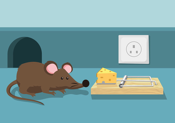 Mouse Trap Free Vector - бесплатный vector #440721
