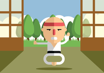 Training Karate - Free vector #441031