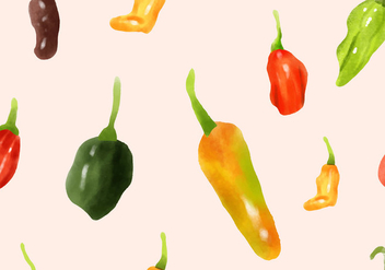 Habanero Seamless Vector Pattern - Free vector #441091