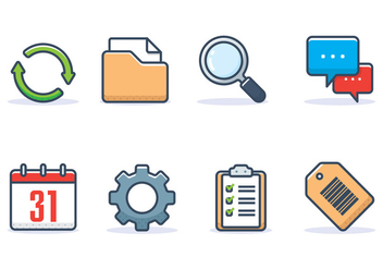 Interface Icon Set - Kostenloses vector #441421