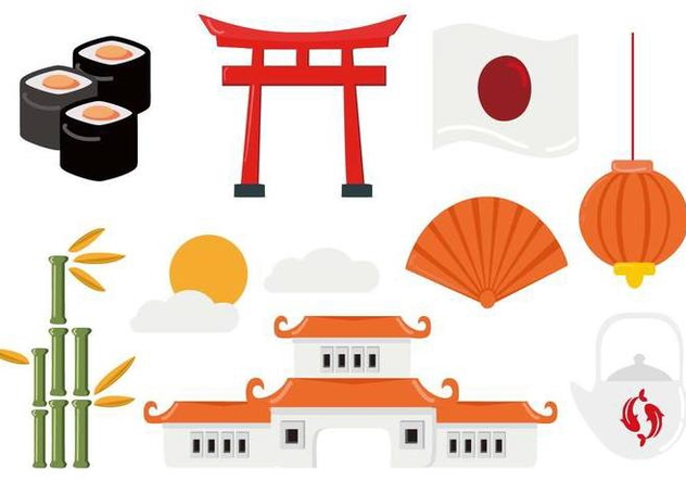 Free Japanese Travel Vector - Kostenloses vector #441541