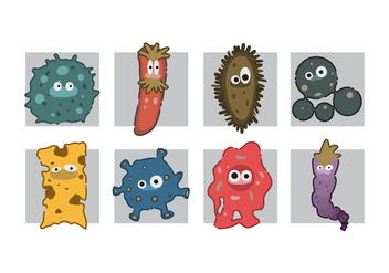 Free Mold Cartoon Vector - vector #441641 gratis