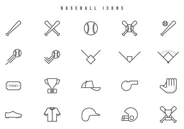 Deportes De Pelota Descargar Vectores Gratis: Beisbol Fotos Y Vectores Gratis