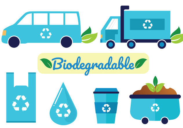 Biodegradable Vector Pack - Free vector #441851