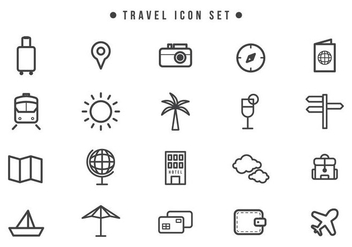 Free Travel Vectors - бесплатный vector #442041