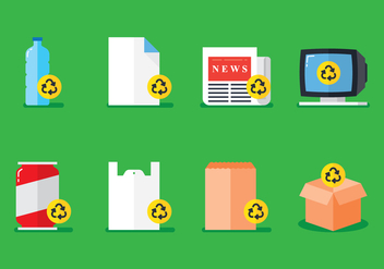 Recycle Thing Vector - vector #442231 gratis